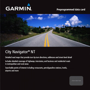 Garmin City Navigator® Europe NT: U.K. & Ireland, microSD/SD card