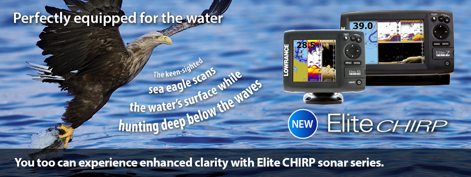 Lowrance Elite 5 CHIRP with 50/200 HDI transducer – Macete