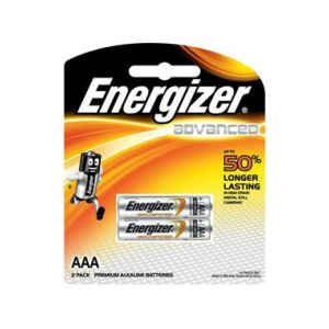 Energizer Advanced Batteries: AAA (Pack 2)